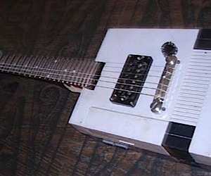 """NES"" Paul Electric Guitar Mod"