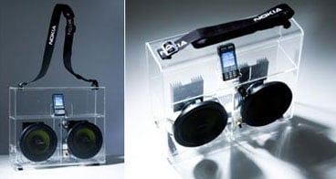 Nokia Clear Boombox
