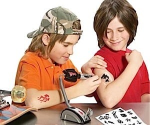 The Junior Tattoo Parlor… You Know, for Kids.