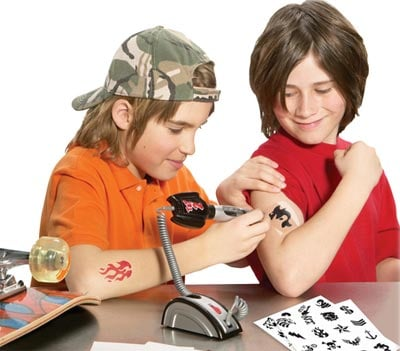 Tattoo Parlor for Kids