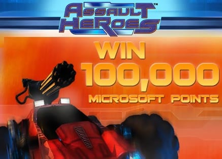 Assault Heroes Microsoft Points Giveaway