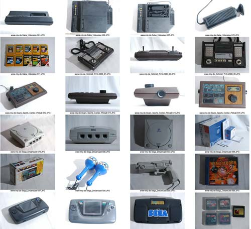 Huge Vintage Video Game Console Auction