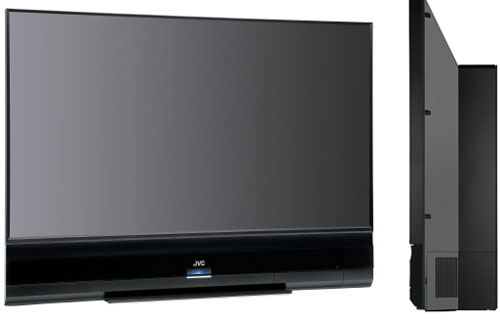 JVC Slim HD-ILA Rear Projection HDTV