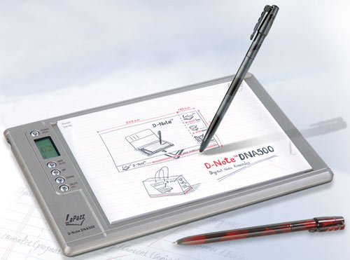 Lapazz D-Note Digital Notepad With Color Recognition