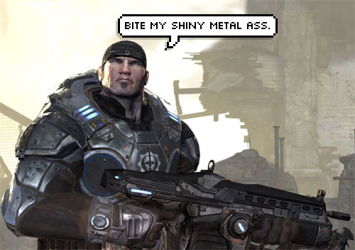 Marcus Fenix is Bender