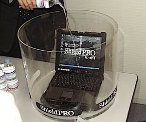 Tough Nec Laptop Pc is Waterproof