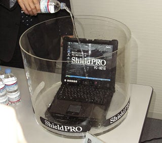 nec waterproof laptop