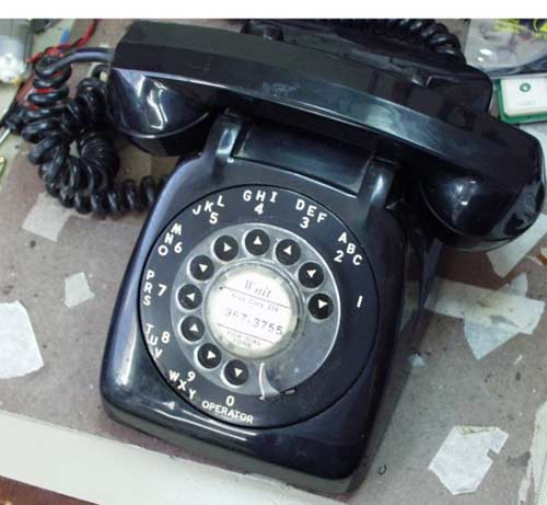 The Rotary Dial Mobile Phone