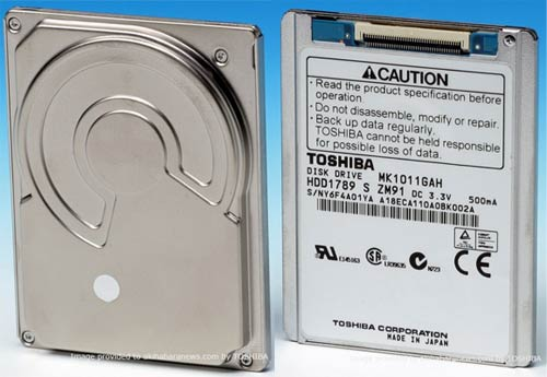Toshiba MK1011GAH 100GB Hard Drive