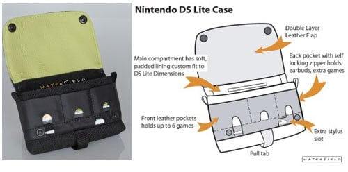 WaterField Nintendo DS Lite Carrying Case