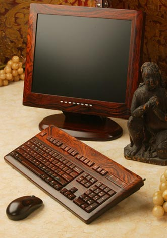 Wood Contour Wooden PC Accessories