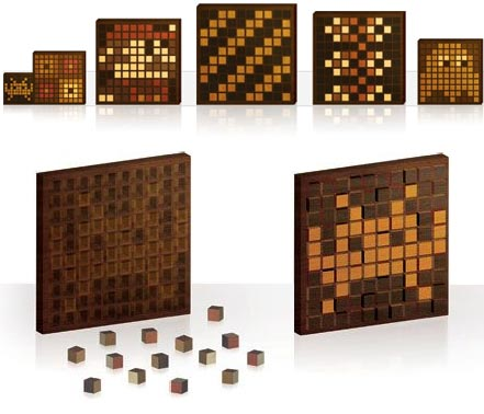 WoodPixel Wooden Pixel Blocks