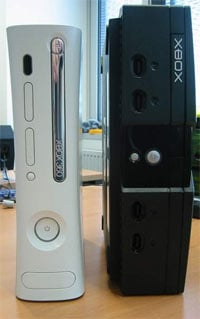 Xbox and Xbox 360 Side by Side