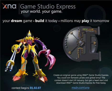 XNA Game Studio Express Contest