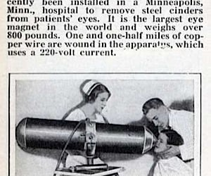 Miracles of Modern Medicine: the Giant Eyeball Magnet