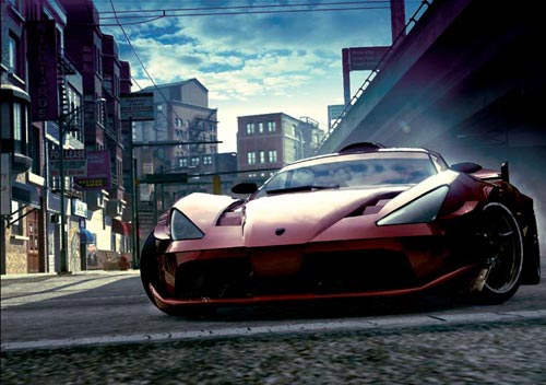 Burnout 5 Car Shot
