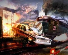 Burnout 5 Train Jump Small