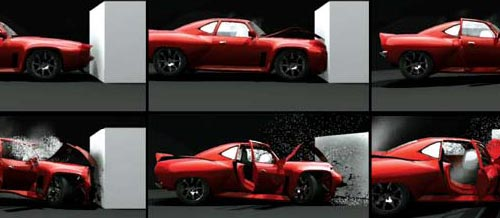 Burnout 5 Damage Modeling
