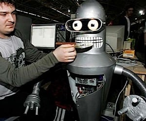 Bender Bending Rodriguez: Best Casemod in a Long Time