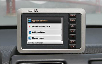 Dash Express GPS Yahoo Local