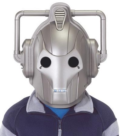 Doctor Who Cyberman Voice Changing Helmet