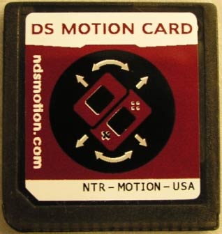 Nintendo DS Motion Sensor Card