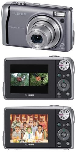 Fuji F40fd: Flash Comparison and Face Recognition Camera