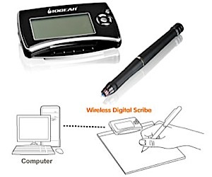 Iogear Digital Scribe: Record Notes From Any Surface