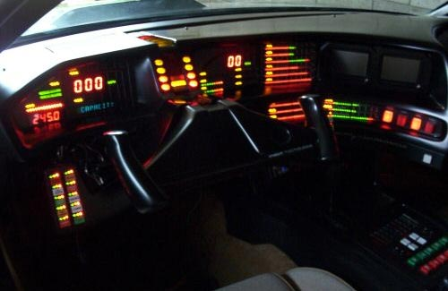 K.I.T.T. Replica Car Dashboard