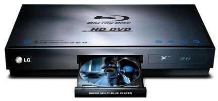LG Blu-ray HD DVD player