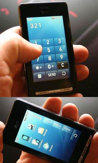 LG KE850 Mobile Phone
