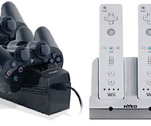 Nyko Recharge Docks for PS3 and Wii Controllers