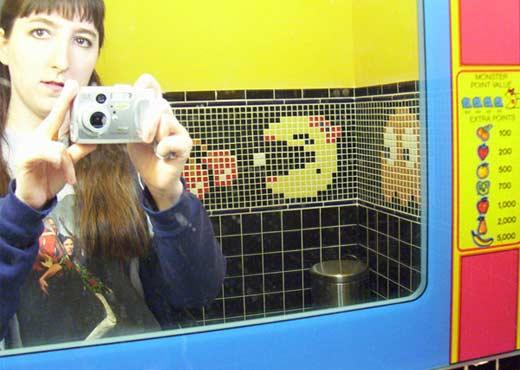 Pac-Man Bathroom