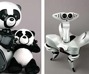 Wowwee's New Robots: Robopanda and Roboquad