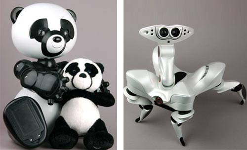 Wowwee's New Robots: Robopanda and Roboquad