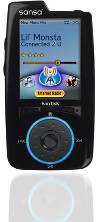 Sansa Connect Media Player