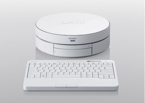 Sony Vaio TP1: the Round PC