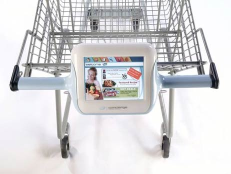Springboard Concierge Interactive Shopping Cart