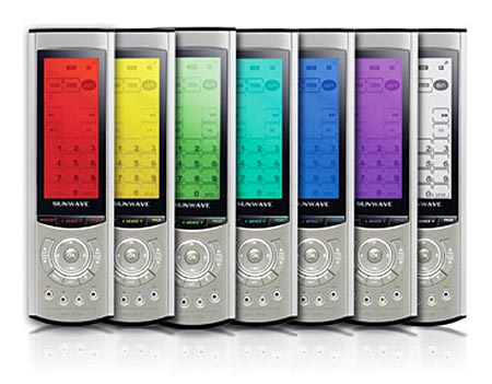 Sunwave Src-3200: the Universal Remote Goes Technicolor