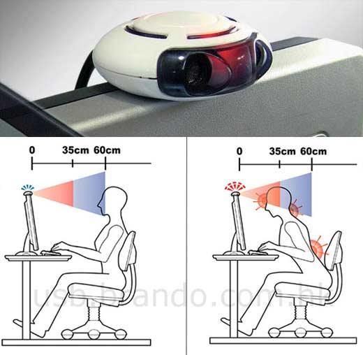 Visomate USB Posture Monitor