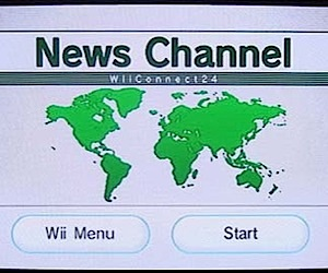 Wii Gets News Channel Today