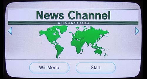 Wii News Channel