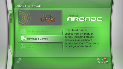 The Next 10 Xbox Live Arcade Games