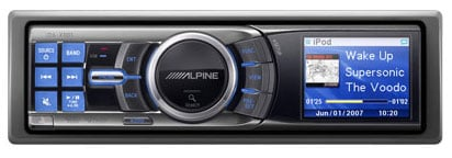 Alpine Car Stereo iPod With Serious iPod Integration