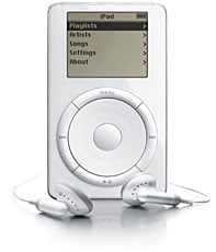 apple ipod 1g