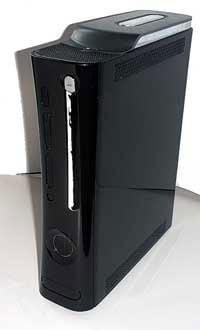 Black Xbox 360 Case Mod