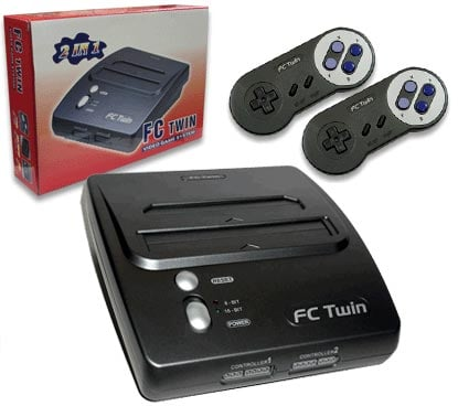 FCTwin Video Game System