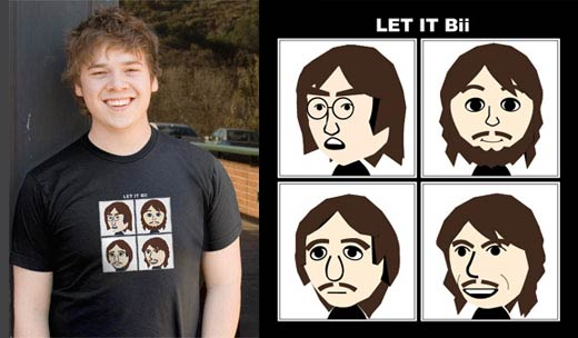 Let it Bii: Wii T-shirt
