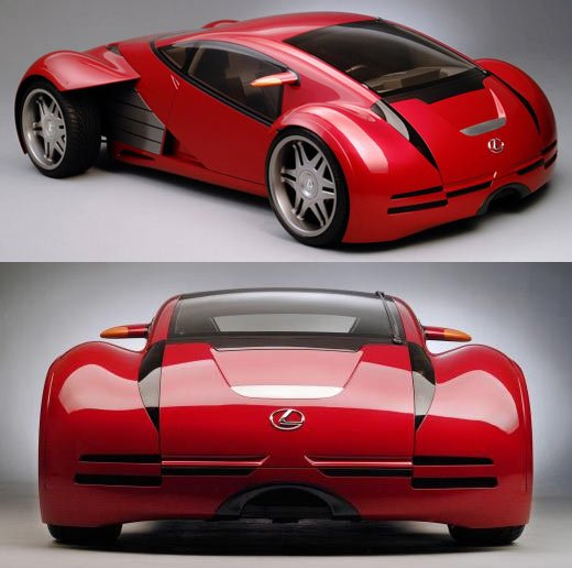 Minority Report Red Lexus 2054