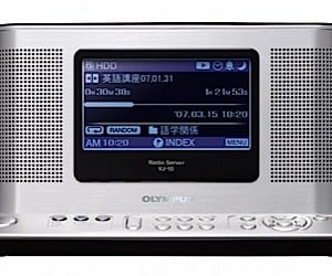 Olympus Vj-10: Am/Fm Radio With Hard Disk